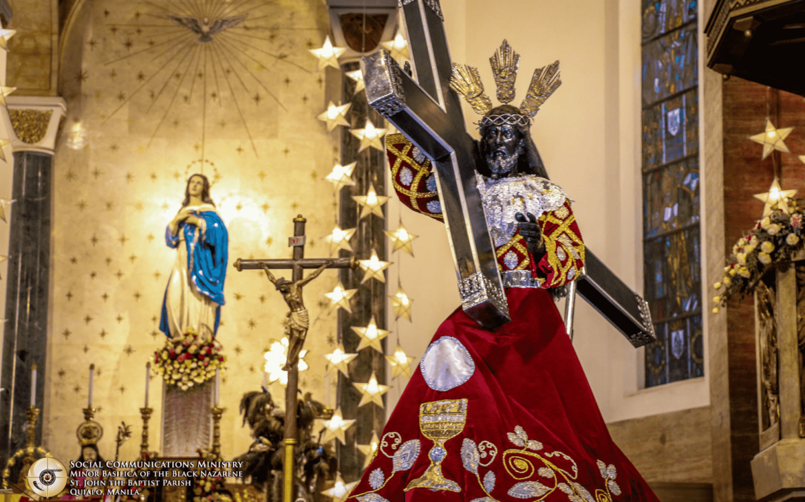 """Quiapo Church to """"localize"""" Celebrations of the Feast of the Black Nazarene amidst Pandemic"""