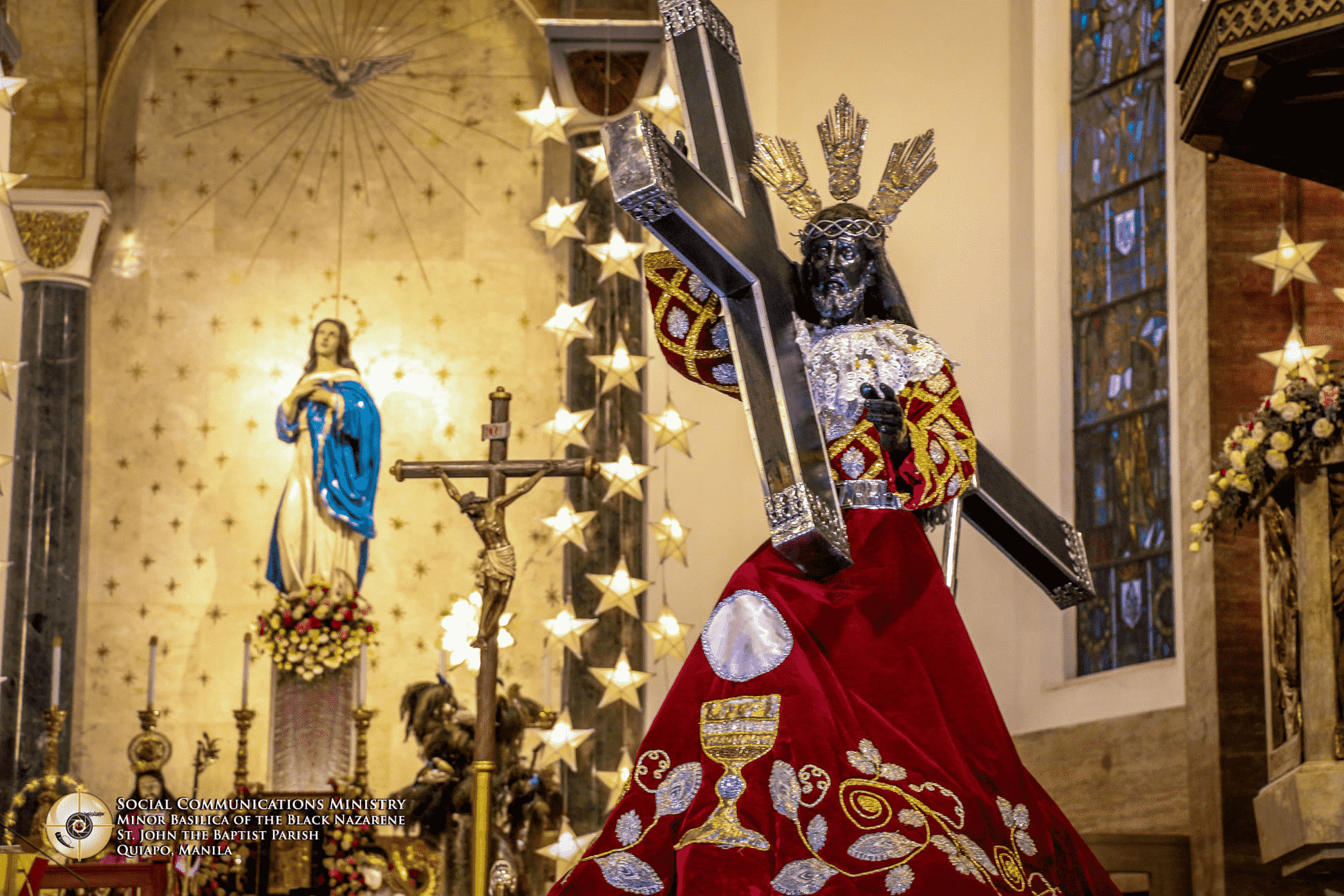 "Quiapo Church to ""localize"" Celebrations of the Feast of the Black Nazarene amidst Pandemic"