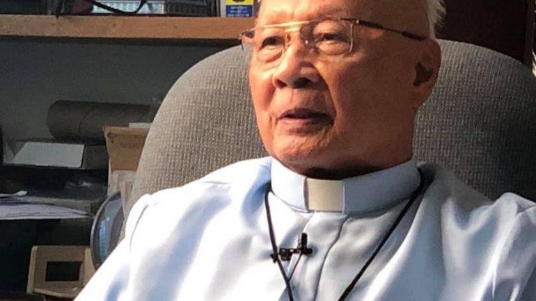 Bishop Sorra of Legazpi dies at 91