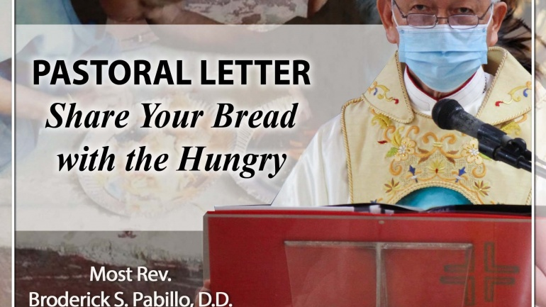 PASTORAL LETTER – Share Your Bread with the Hungry
