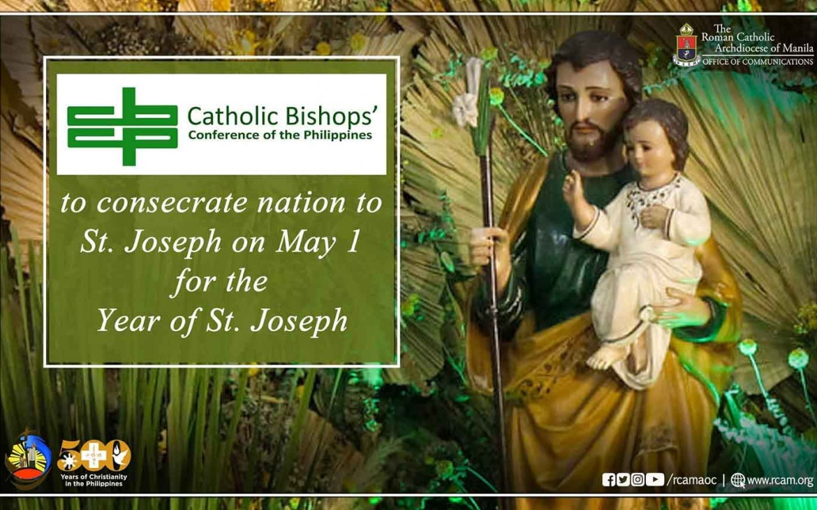 CBCP to consecrate nation to St. Joseph on May 1 for the Year of St. Joseph