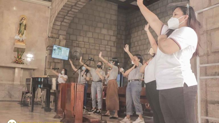 Santuario del Sto. Cristo Parish, We Give Our Yes!