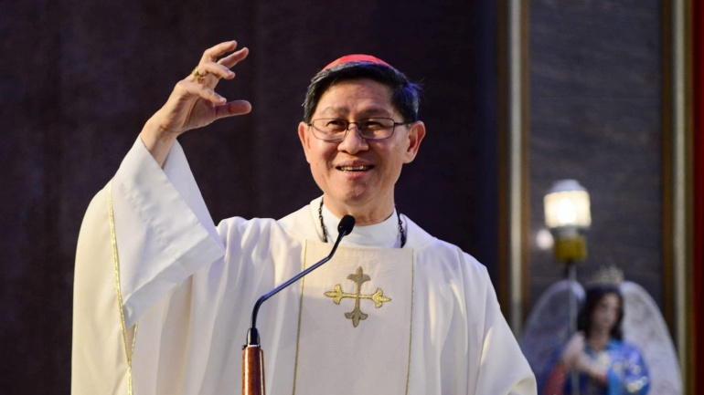 Cardinal Tagle re-echoes Pope Francis' Lenten Message