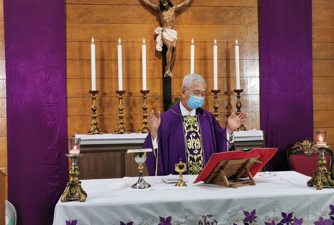 "Bishop urges use of ""Weapons of Lent"""