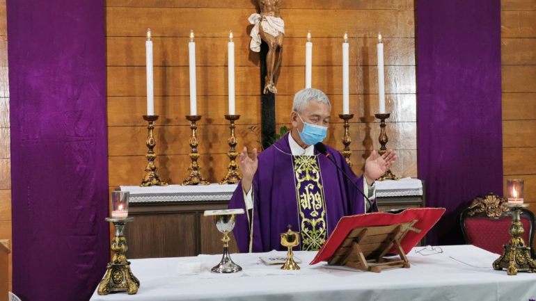 """Bishop urges use of """"Weapons of Lent"""""""