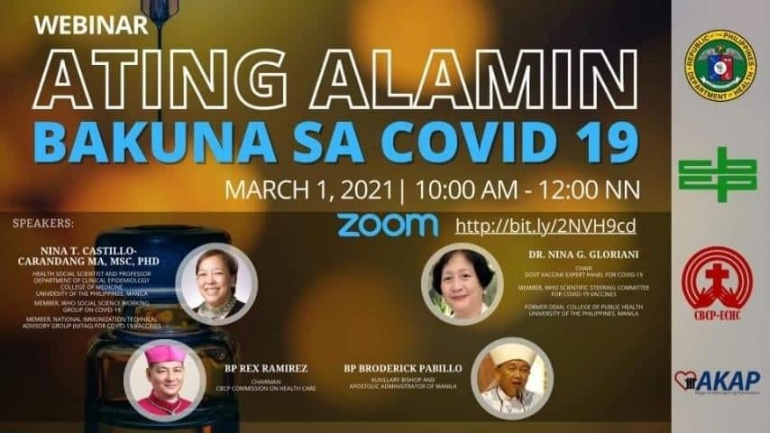 CBCP Commission on Healthcare holds Webinar on Vaccines