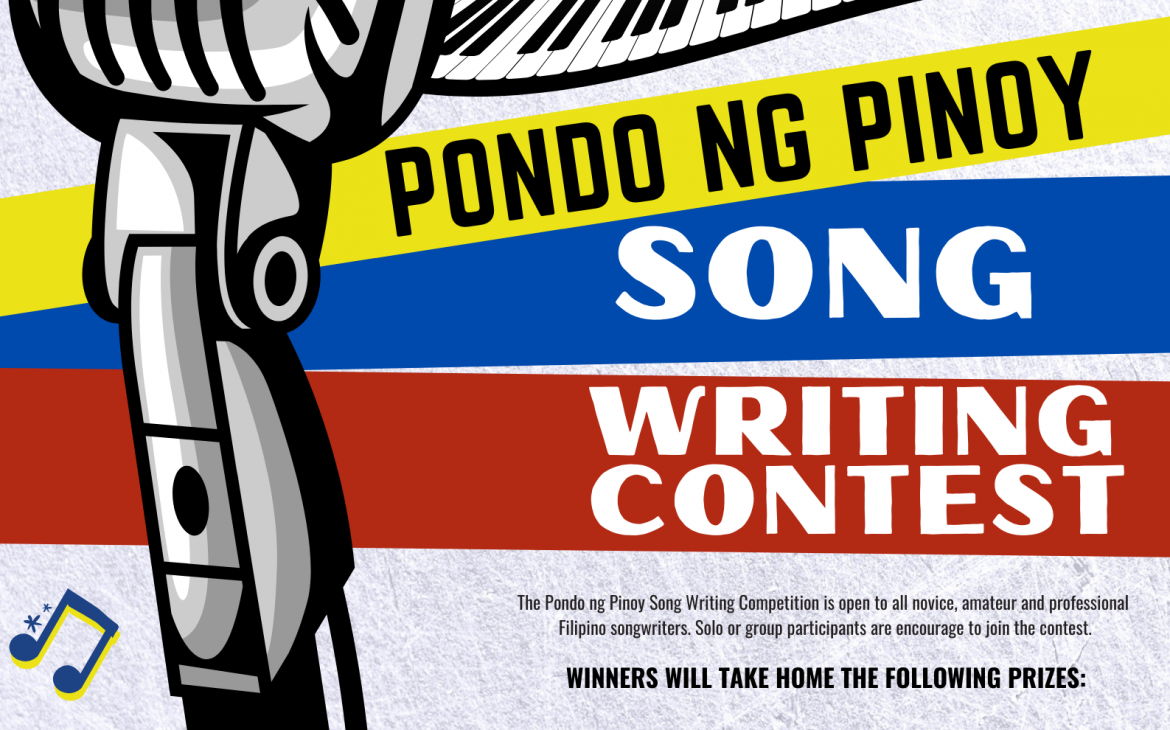 Pondo ng Pinoy launches song writing contest