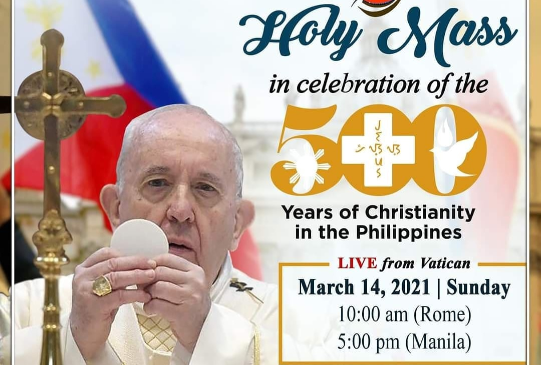 Filipinos in Rome join Philippines' celebration of 500 Years of Christianity