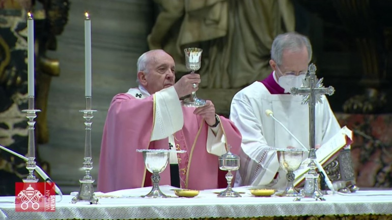 Pope Francis leads 500 Years of Christianity celebration in Rome