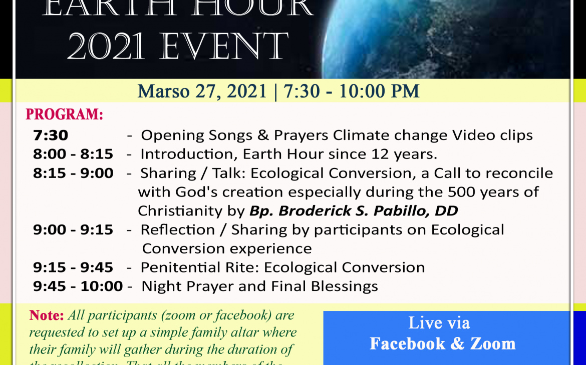 Lights Off for Earth Hour 2021 in the Archdiocese of Manila