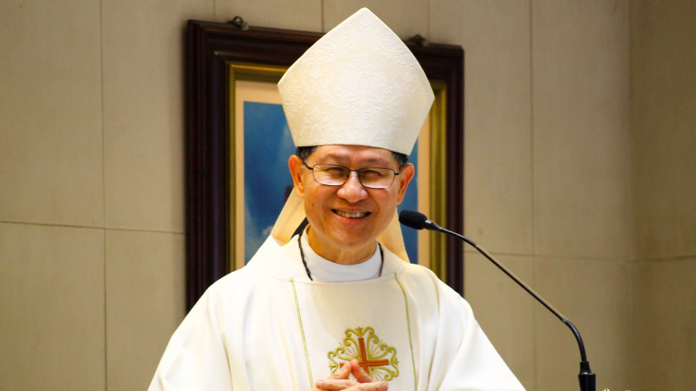 Faithful warned about Hacked email account soliciting money for Cardinal Tagle
