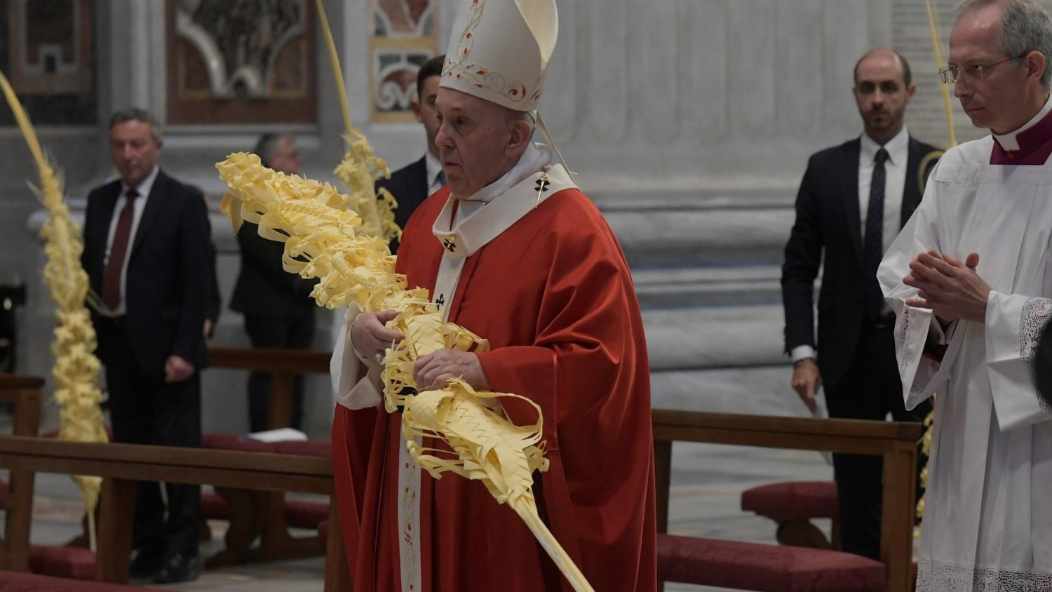 FULL TEXT | Homily of Pope Francis during Palm Sunday Mass on March 28, 2021