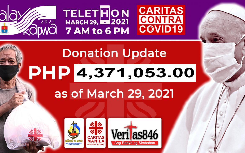 Caritas Manila holds Alay Kapwa Telethon