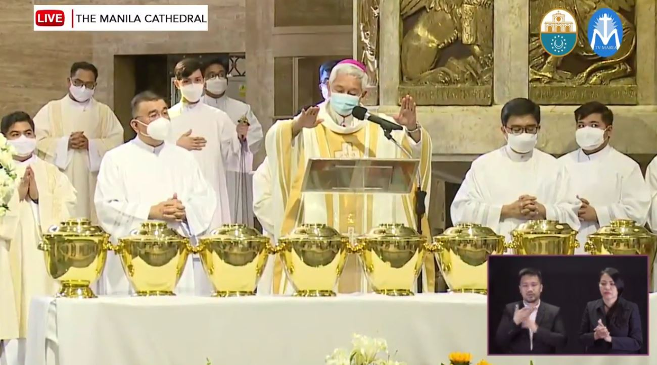 """There is no """"virtual annointing of the sick"""", Bishop reminds faithful"""