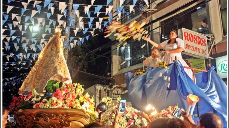 Un Pueblo Amante de Maria: A People devoted to Mary even in the pandemic