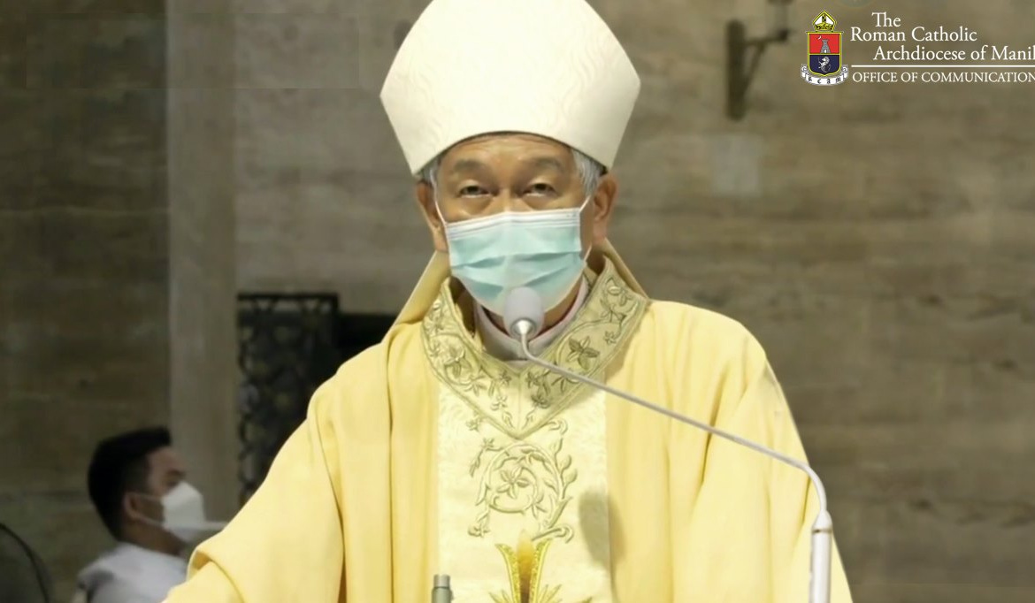 FULL TEXT | Homily of Bishop Broderick S. Pabillo during Evening Mass of the Lord's Supper on April 1, 2021