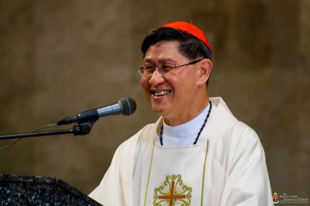 "Cardinal Tagle undergoes ""eye treatment"" in Rome"