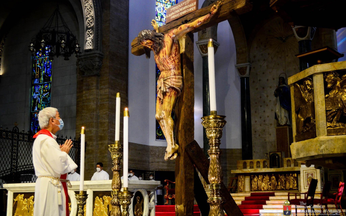 FULL TEXT   Homily of Bishop Broderick Pabillo during Friday of the Passion of the Lord on April 2, 2021