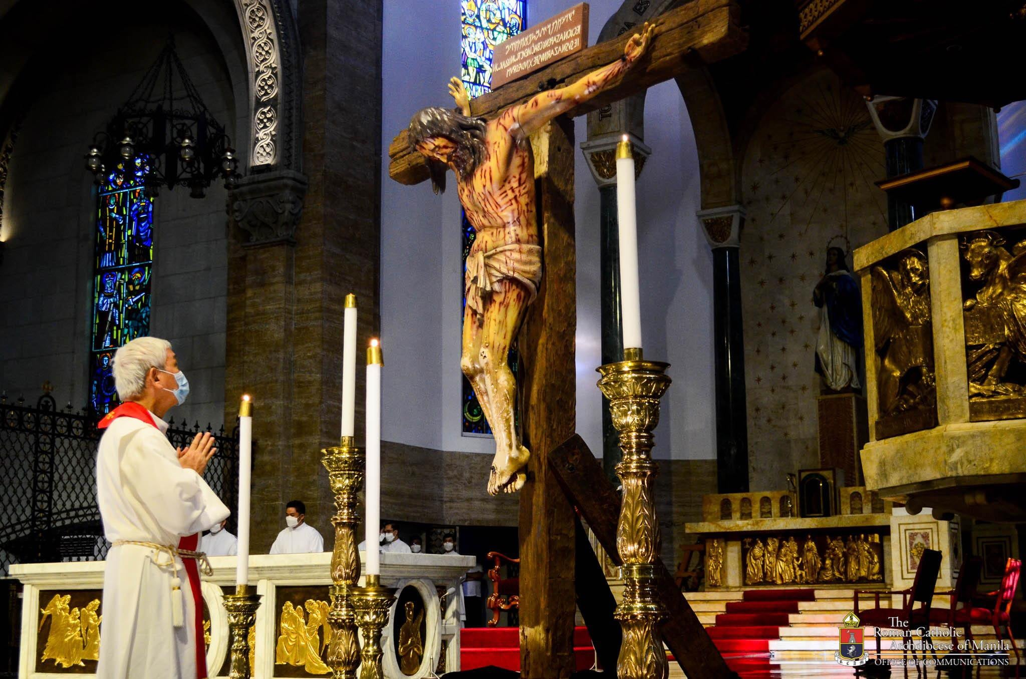 FULL TEXT | Homily of Bishop Broderick Pabillo during Friday of the Passion of the Lord on April 2, 2021