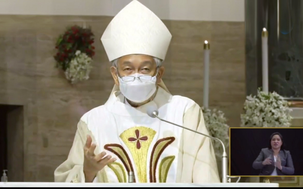 FULL TEXT   Homily of Bishop Broderick Pabillo during Easter Vigil Mass on April 3, 2021