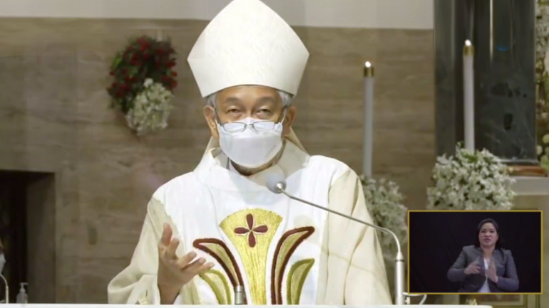 FULL TEXT | Homily of Bishop Broderick Pabillo during Easter Vigil Mass on April 3, 2021