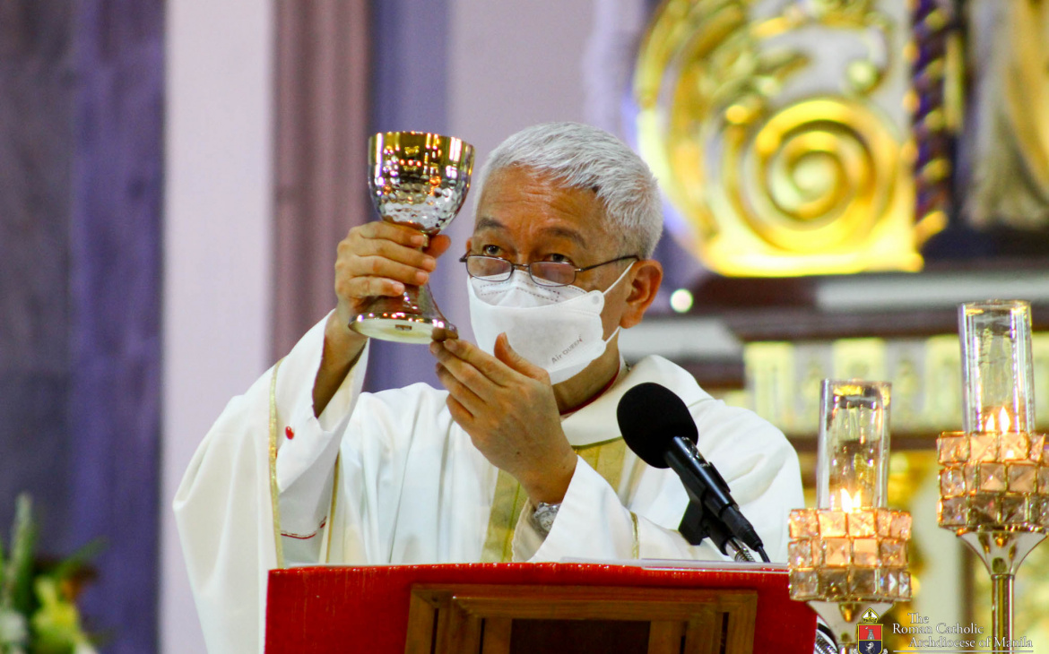 FULL TEXT | Homily of Bishop Pabllo, Apostolic Administrator of Manila during Mass for the Opening of Jubilee Door of San Felipe Neri Parish on April 6, 2021