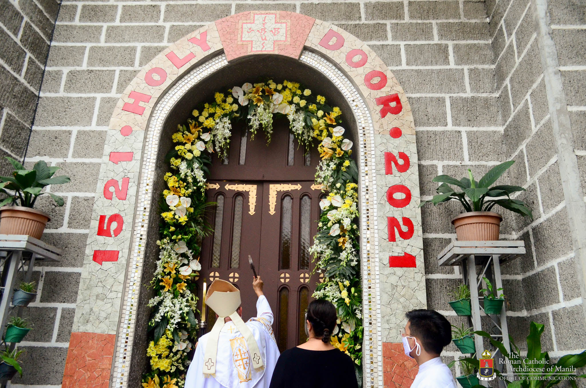 Bishop Pabillo Opens second Archdiocesan Jubilee door for the Celebration of 500YOC