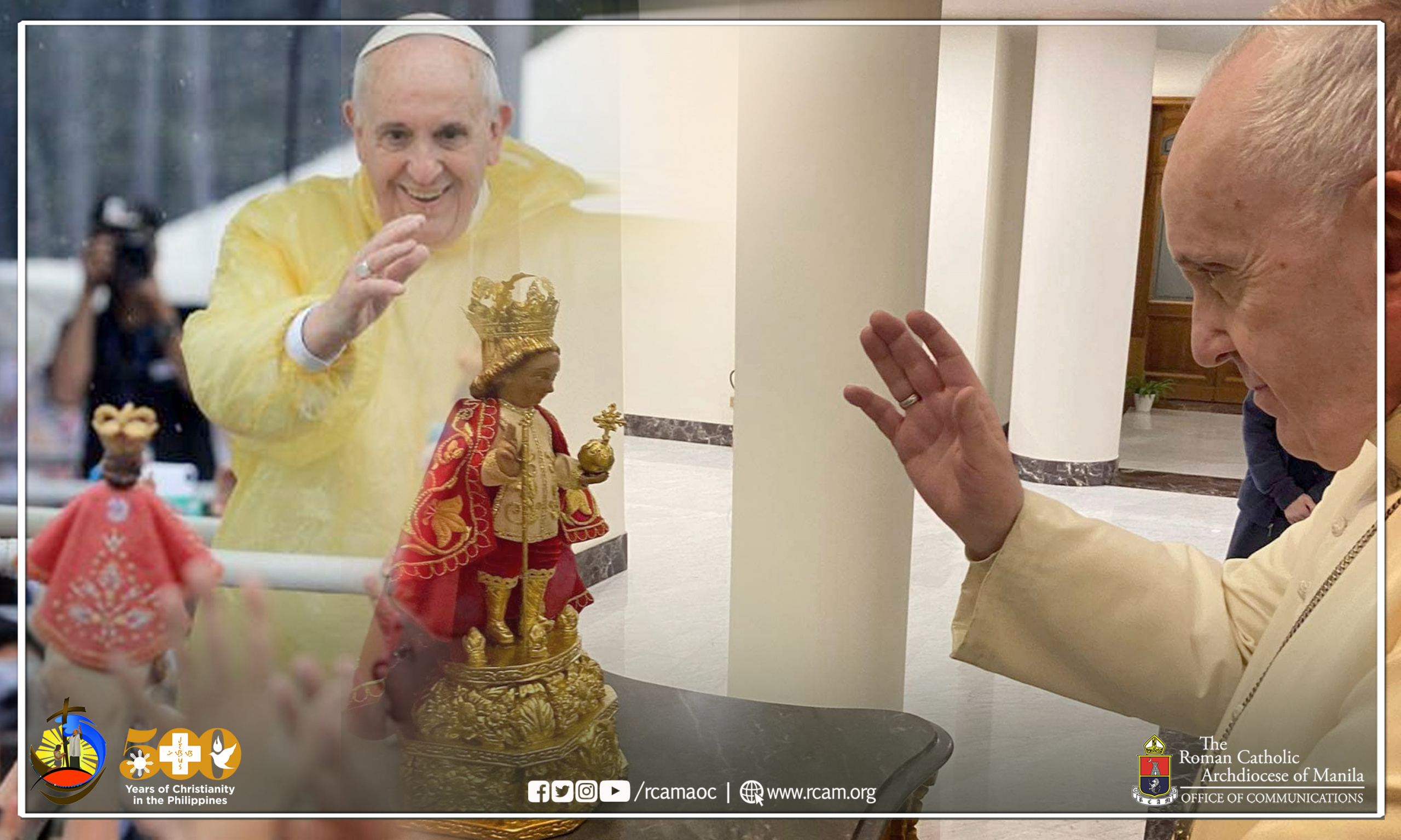 Pope Francis recalls visit to the Philippines affectionately