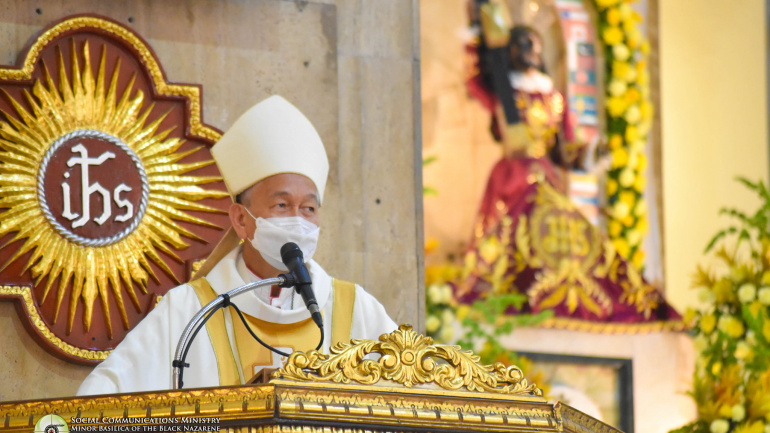 FULL TEXT | Homily of Bishop Broderick S. Pabillo, Apostolic Administrator of Manila during Mass for the Opening of Jubilee Door of Quiapo Church on April 9, 2021
