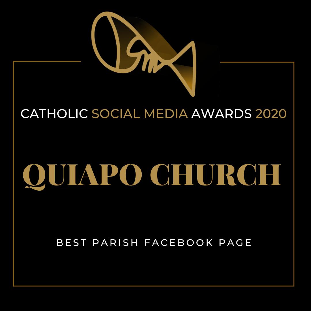 Quiapo Church is Best Parish Facebook Page