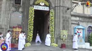 Pinto ng Hubileyo ng Dambana ng Santo Niño, Pinasinayaan