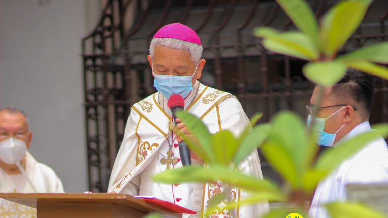 FULL TEXT | Homily of Bishop Broderick S. Pabillo, Apostolic Administrator of Manila during Mass for the Opening of Jubilee Door of Saint John the Baptist Parish on April 18, 2021
