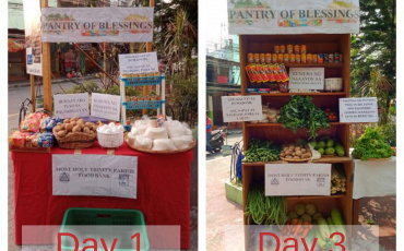 """Parishes in the Archdiocese of Manila setup """"Community Pantry"""" during Pandemic"""