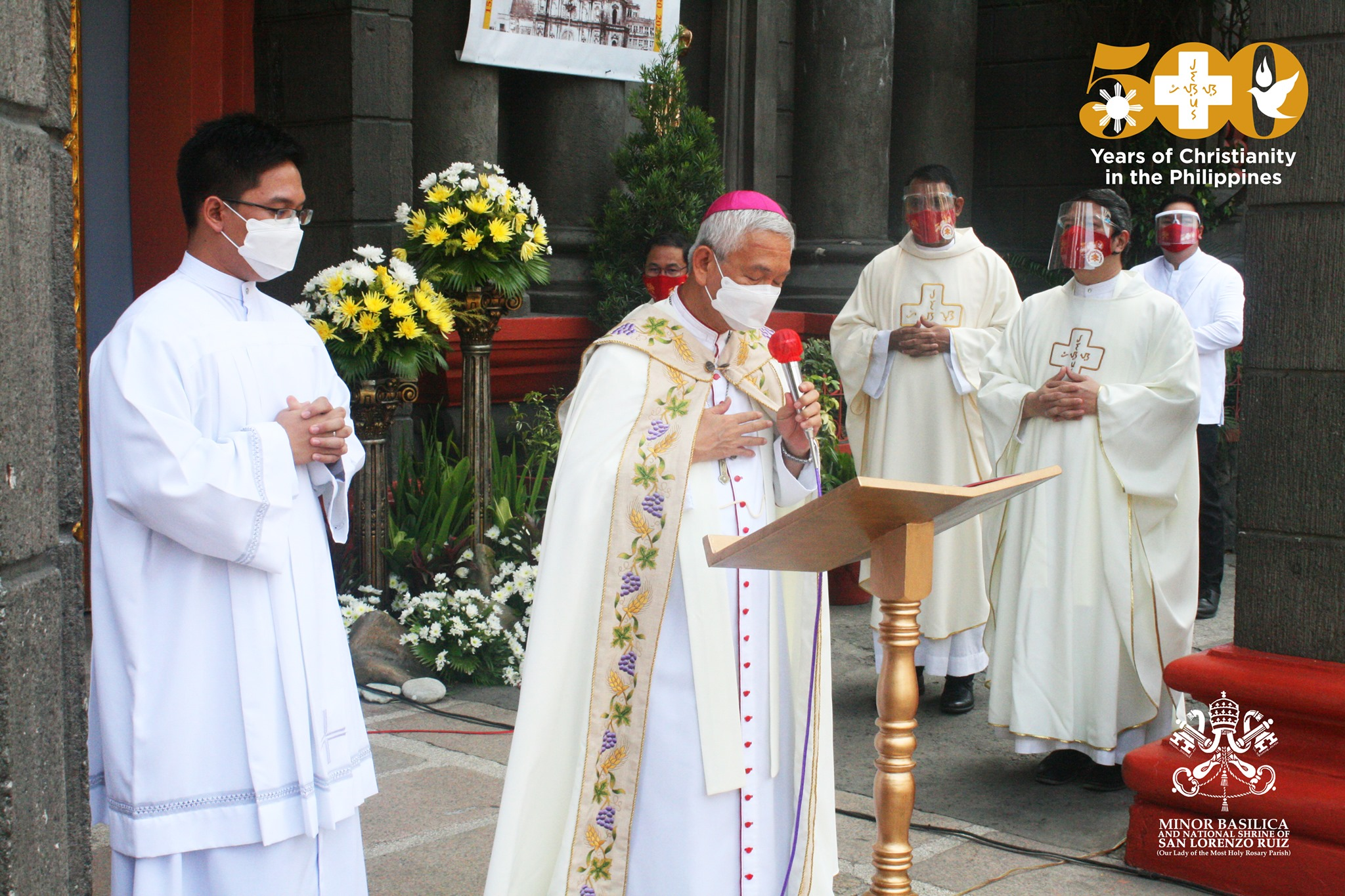 FULL TEXT | Homily of Bishop Broderick S. Pabillo, Apostolic Administrator of Manila during Mass for the Opening of Jubilee Door of Minor Basilica and National Shrine of San Lorenzo Ruiz on April 25, 2021, at 10 am