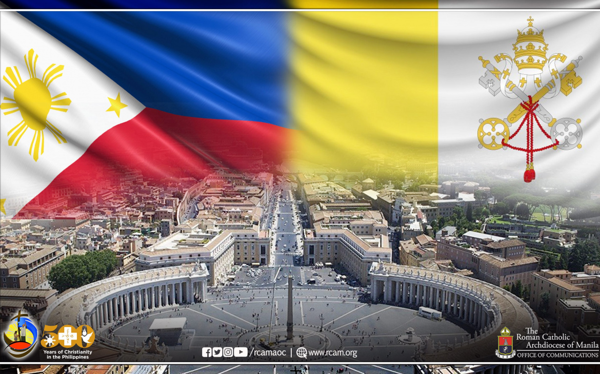 The Philippines marks 70 years of Diplomatic Relations with the Holy See