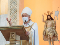 FULL TEXT |  Homily of Bishop Broderick S. Pabillo, Apostolic Administrator of Manila during Mass for the Opening of Jubilee Door of the National Shrine of Our Lady of Guadalupe on April 12, 2021