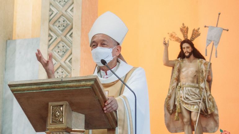 FULL TEXT    Homily of Bishop Broderick S. Pabillo, Apostolic Administrator of Manila during Mass for the Opening of Jubilee Door of the National Shrine of Our Lady of Guadalupe on April 12, 2021