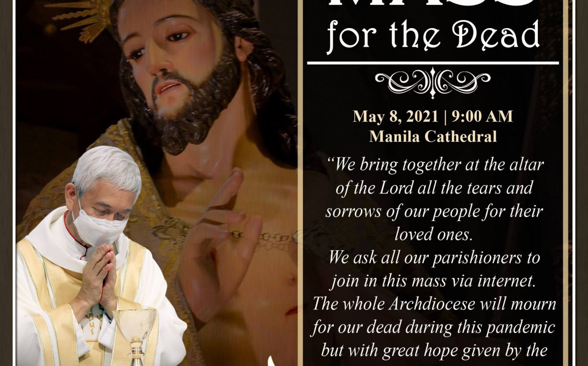 """Archdiocese of Manila sets """"Day of Mourning"""" for COVID-19 Deaths"""