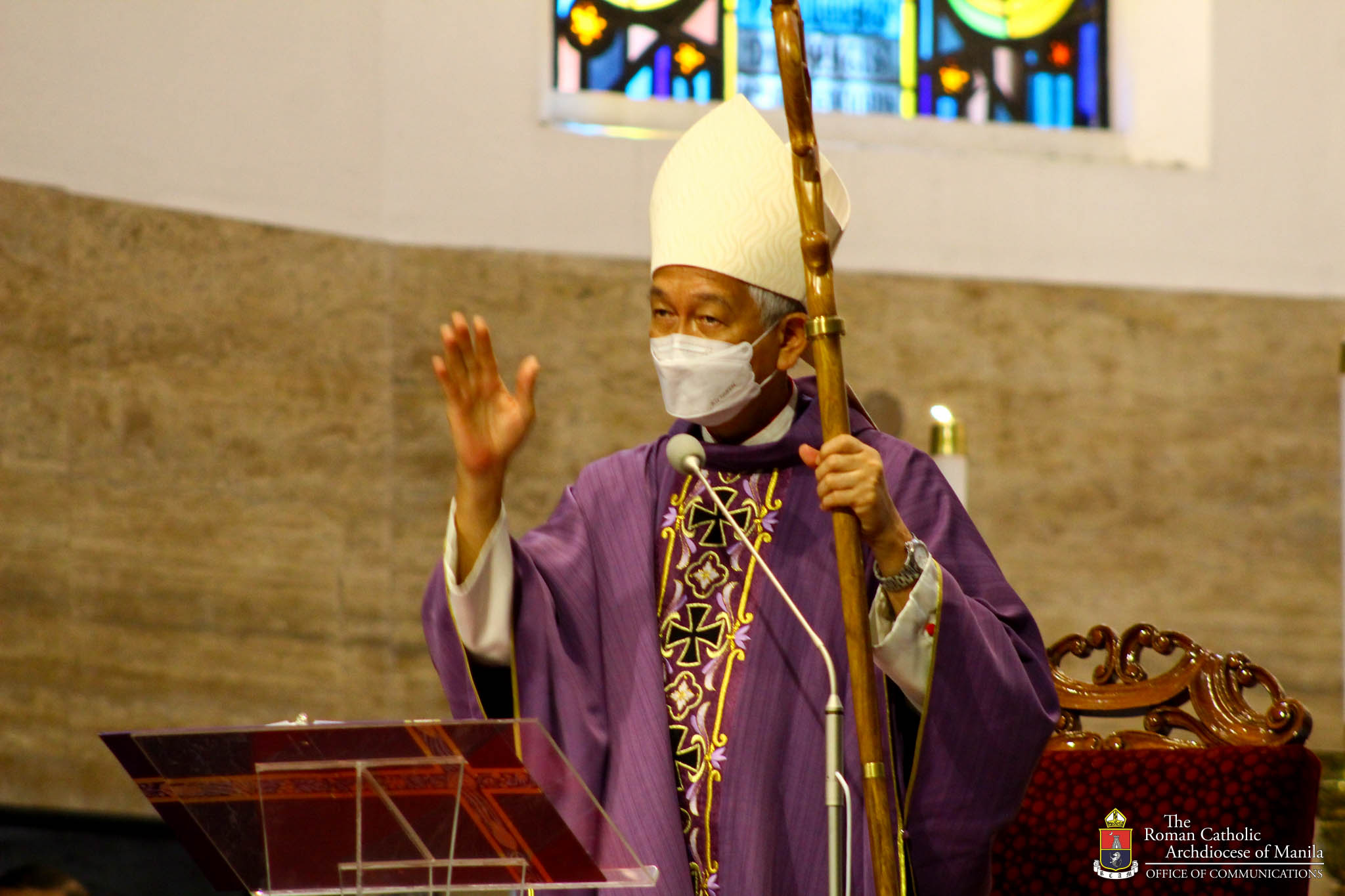 """""""Prepare for death by being the best in what we do"""" – Bishop Pabillo"""