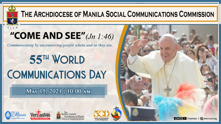 Archdiocese of Manila Celebrates 55th World Communications Day