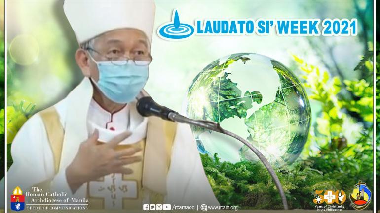 """""""Magbago ang ugali at pananaw alang-alang sa ating mundo"""" – Bishop Pabillo on Laudato Si Week"""