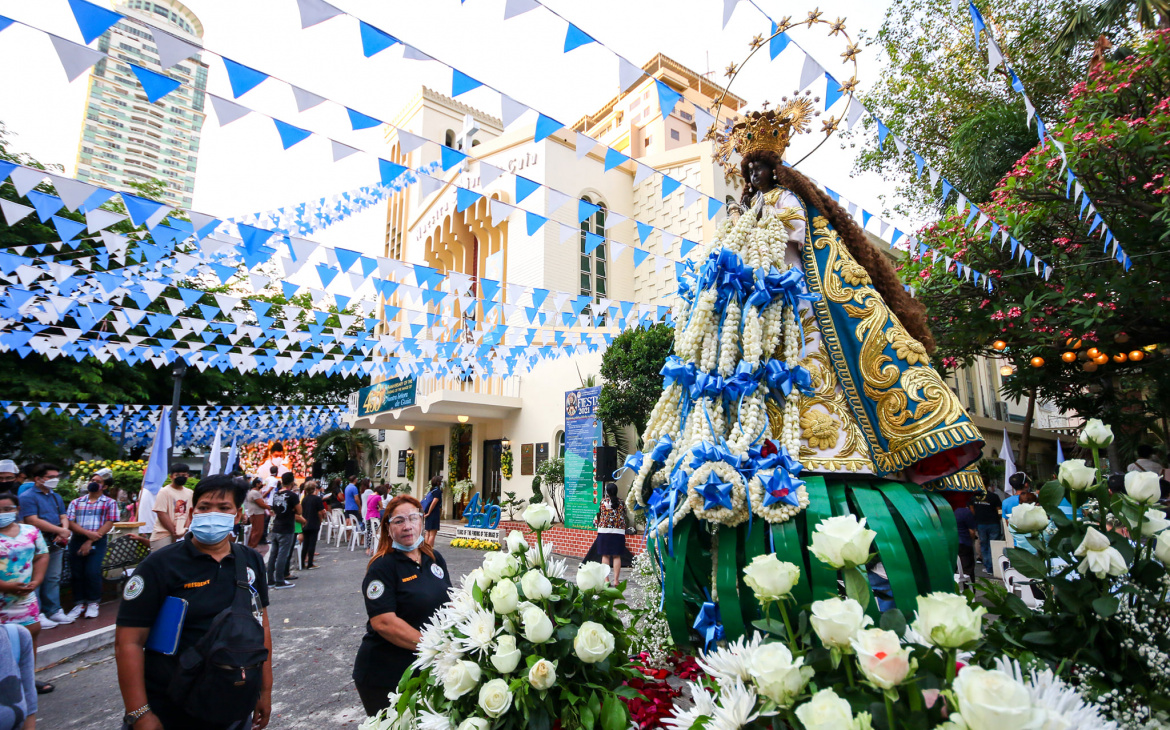 Oldest Marian Image in the Philippines celebrates 450th year