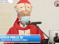 FULL TEXT | Homily of Bishop Broderick S. Pabillo, Apostolic Administrator of Manila during the online Pentecost Sunday Mass at St. John Mary Vianney Parish on May 23, 2021, at 10 am
