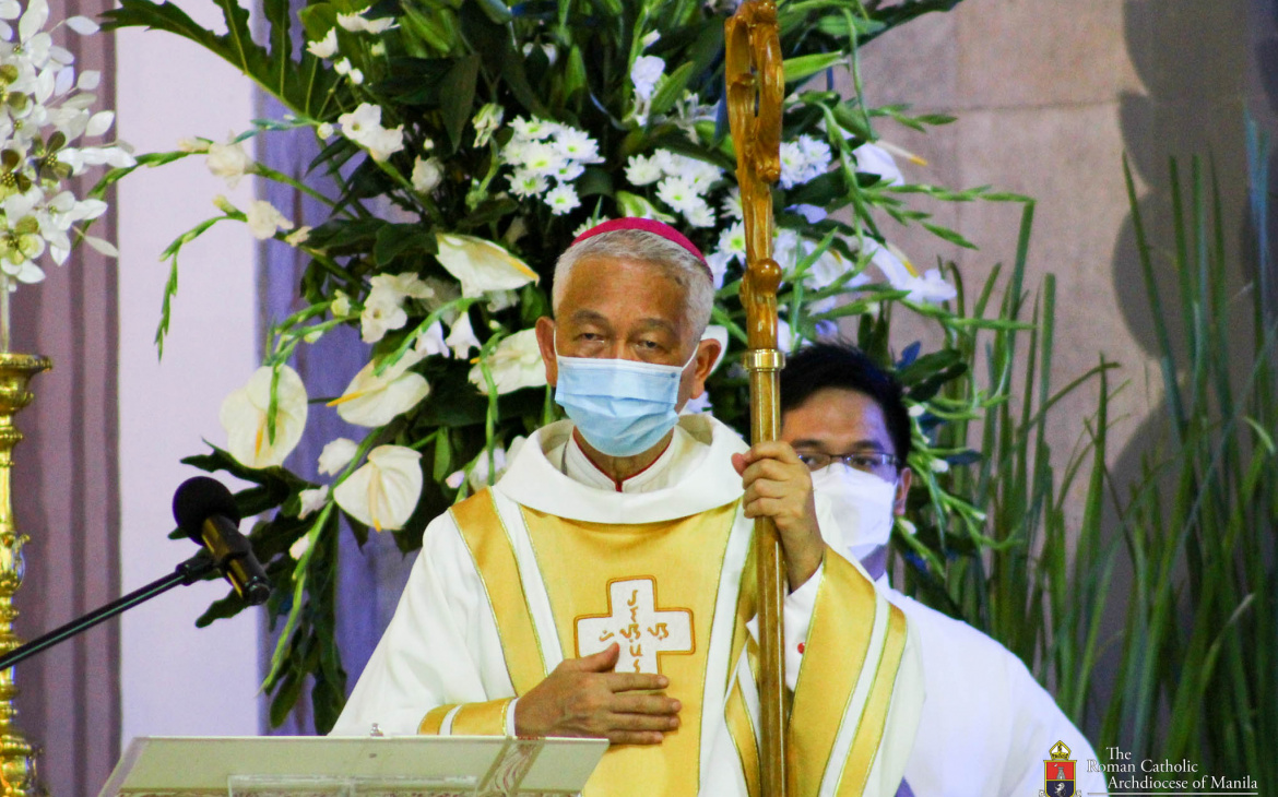 FULL TEXT | Homily of Bishop Broderick Pabillo, Apostolic Administrator of Manila during Mass for the Solemnity of St. Philip Neri at San Felipe Neri Parish on May 26, 2021