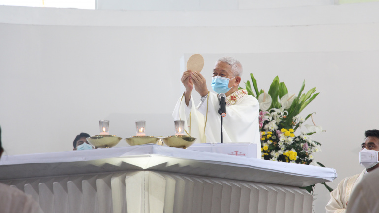 Uphold Unity amidst Diversity as embodied by the Holy Trinity  – Bishop Pabillo
