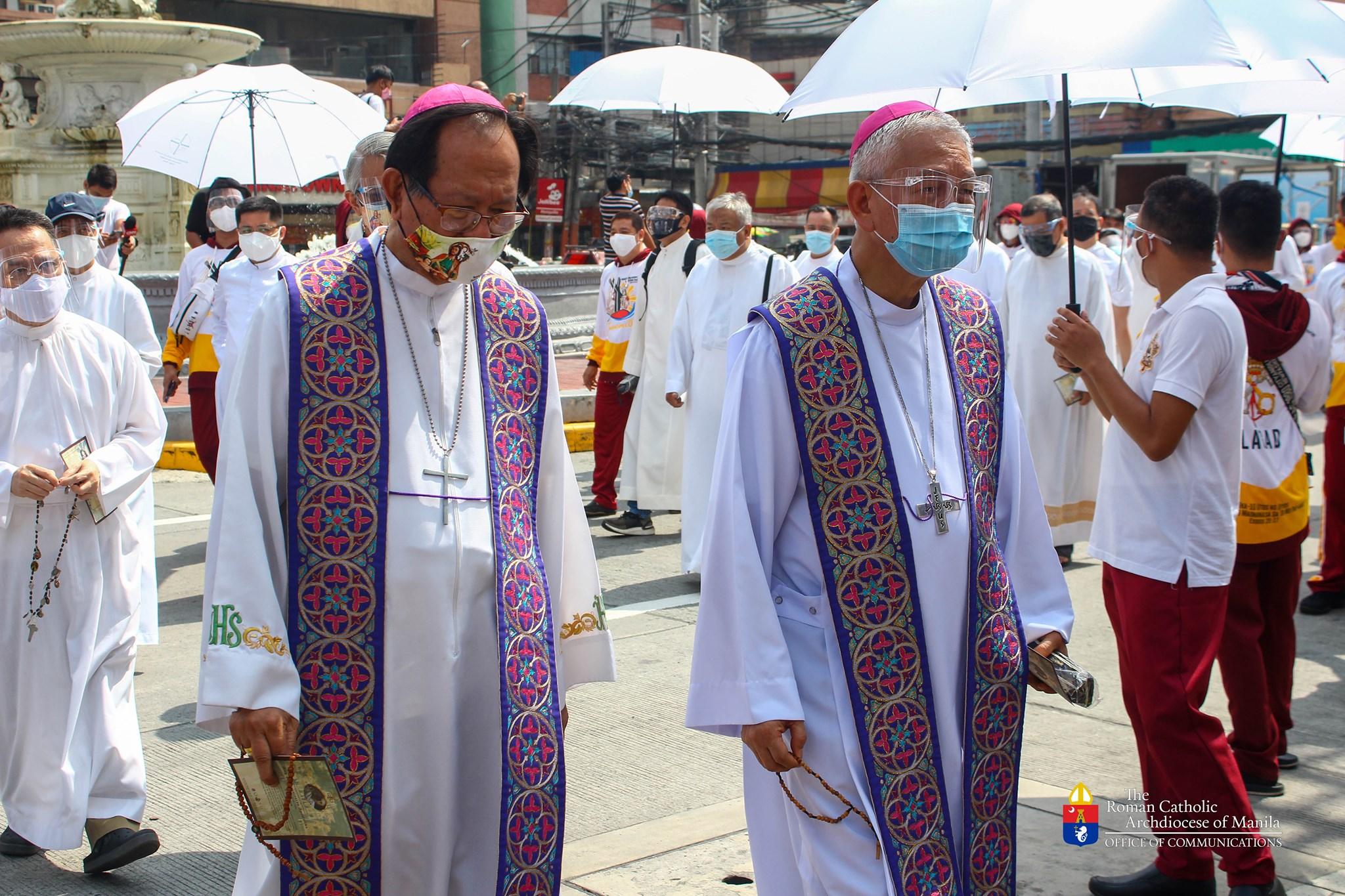 Bishop Pabillo emphasizes 'spiritual impact' of priests' Penitential Walk