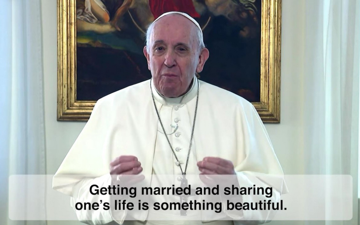 Marriage not just a 'social act' reminds Pope Francis