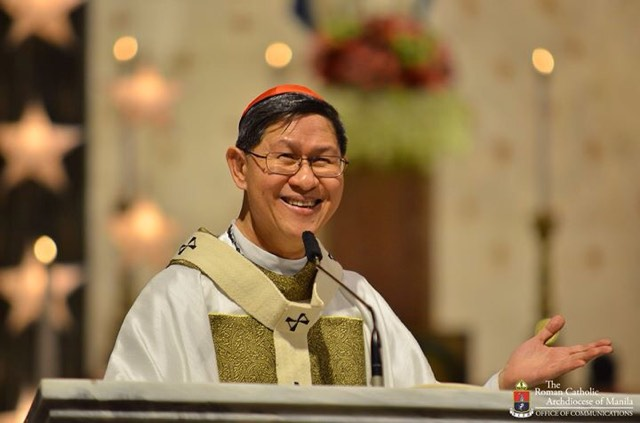Do not just feed Children with hamburgers; feed them with the Holy Eucharist – Cardinal Tagle