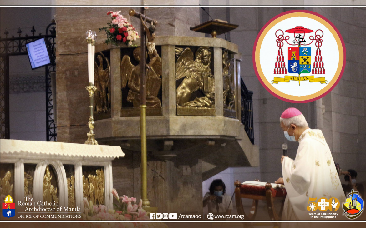 9-Day Spiritual Preparation of the Archdiocese of Manila before Installation of new Archbishop