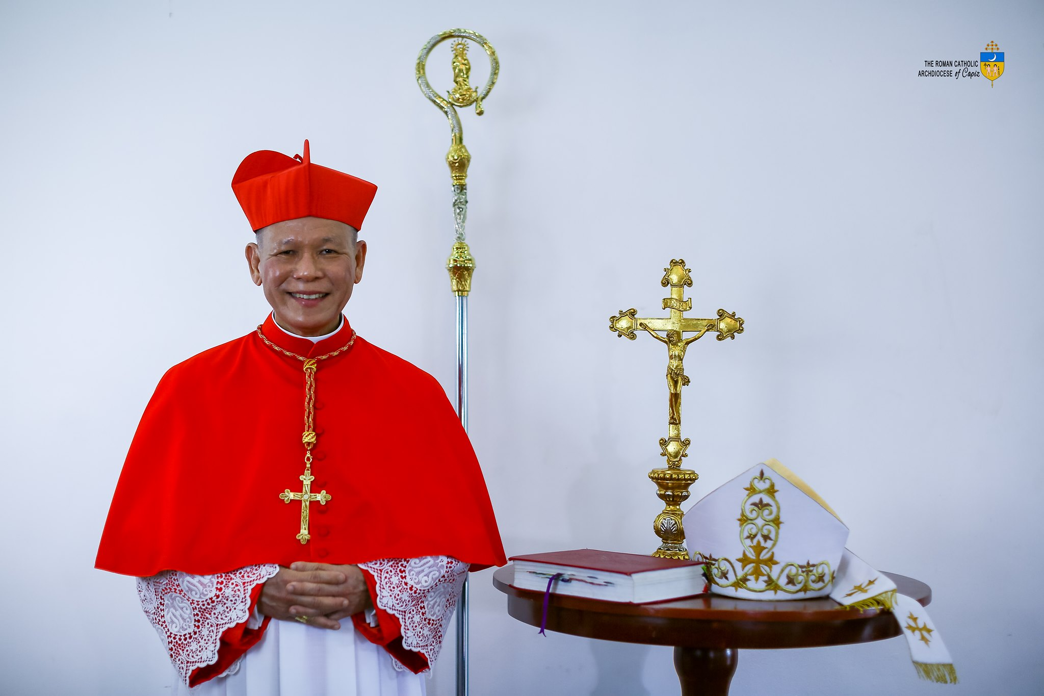 Bestowal of 'Red Hat' of Cardinal Advincula rescheduled on June 18